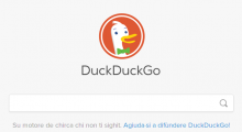 DuckDuckGo in sardu